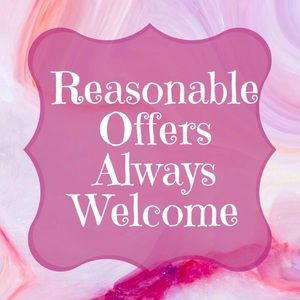Fair & Respectful Offers Are Accepted Instantly!